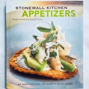 🍒 3/$25 Stonewall Kitchen Appetizers Book